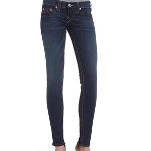 True Religion Women's Casey Super Skinny Jeans